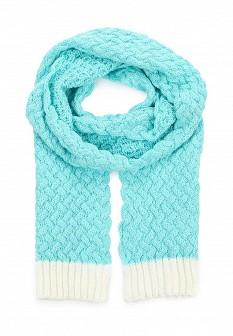 Женский мятный осенний летний шарф
