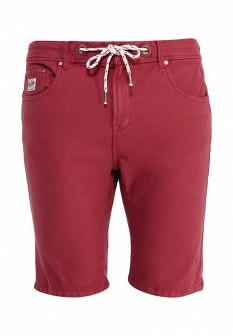 Мужские бордовые шорты Alcott