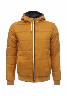 Мужская желтая синяя утепленная осенняя куртка