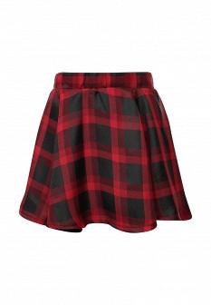 Красная осенняя юбка Alcott