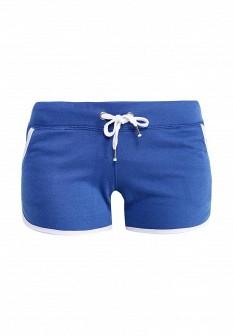 Женские синие спортивные шорты