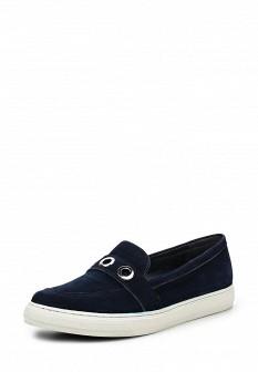Женские синие туфли лоферы Antonio Biaggi