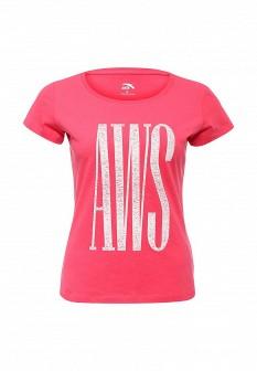 Женская розовая футболка ANTA