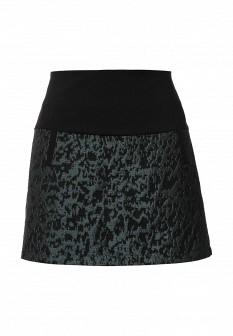 Зеленая осенняя юбка