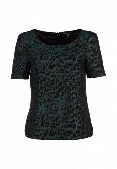 Зеленая осенняя блузка Apart