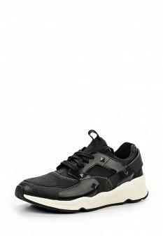 Мужские белые черные осенние кожаные кроссовки