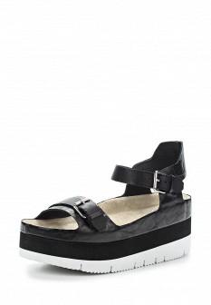 Женские белые серые черные кожаные сандалии