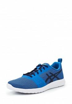Мужские голубые осенние кроссовки