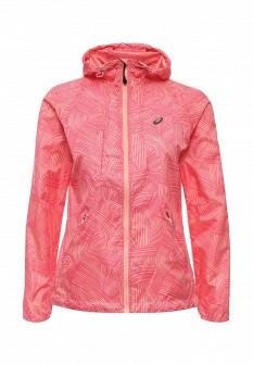 Женская розовая коралловая ветровка на осень