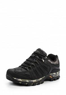 Мужские осенние кожаные трекинговые ботинки