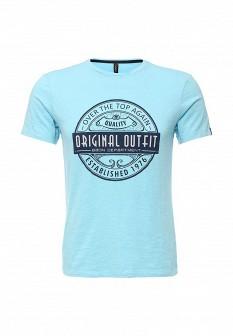 Мужская голубая футболка Baon