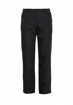 Мужские черные осенние утепленные брюки