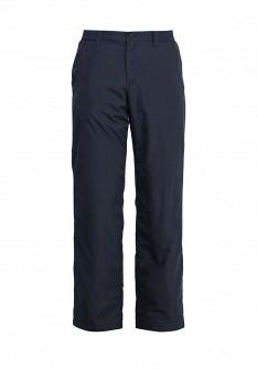 Мужские синие осенние утепленные брюки