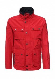 Мужская красная осенняя куртка