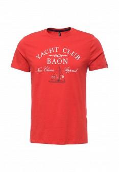 Мужская красная футболка Baon