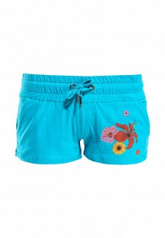 Женские голубые шорты Baon