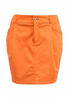 Оранжевая юбка Baon
