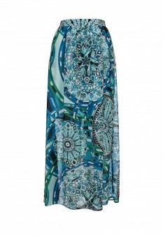 Бирюзовая юбка Baon