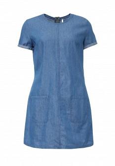 Синее джинсовое платье Baon
