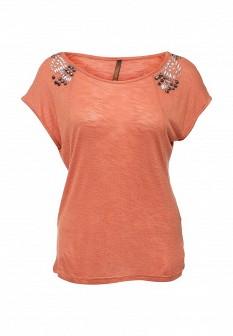 Женская коралловая футболка Baon