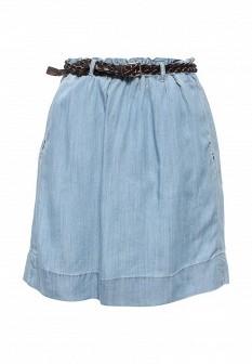 Голубая юбка Baon