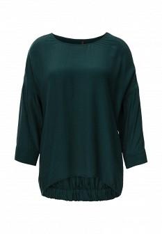 Зеленая осенняя блузка