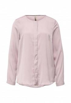 Фиолетовая осенняя блузка