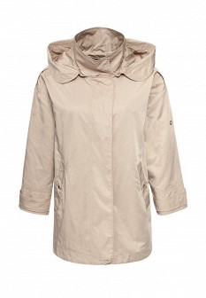 Женская бежевая осенняя куртка