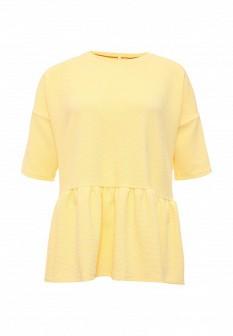 Женская желтая футболка Baon