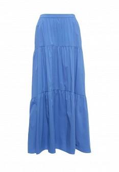Голубая синяя юбка Baon