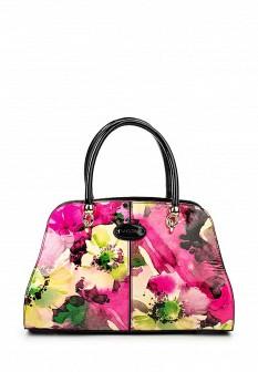 Женская кожаная лаковая сумка