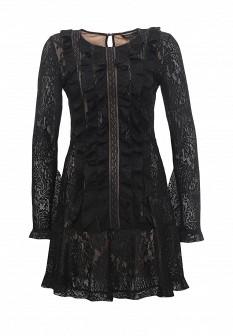 Черное платье BCBGMAXAZRIA