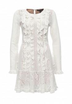 Белое платье BCBGMAXAZRIA