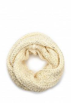 Женский белый осенний шарф Bebe