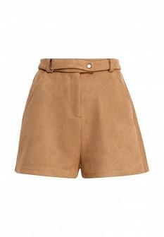 Женские коричневые шорты Befree