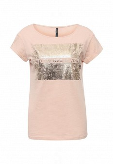 Женская бежевая футболка