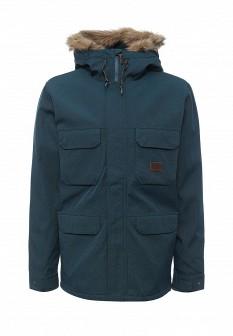 Мужская зеленая утепленная осенняя куртка