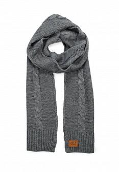 Мужской серый осенний шарф BILLABONG