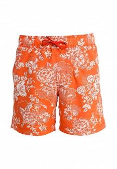 Мужские оранжевые шорты Blend