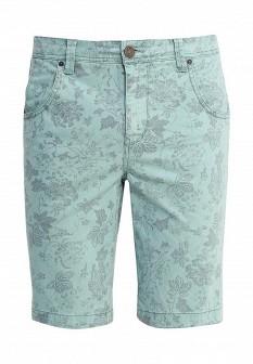 Мужские зеленые джинсовые шорты