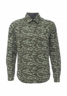 Мужская зеленая рубашка Blend