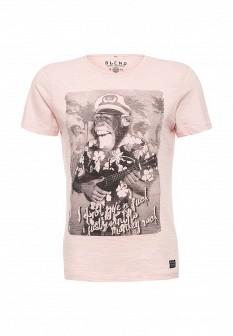 Мужская розовая футболка Blend