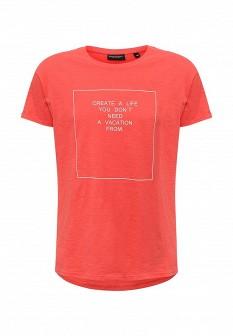 Мужская красная футболка Broadway