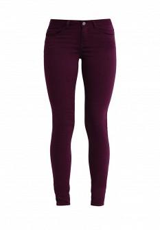 Женские фиолетовые осенние брюки