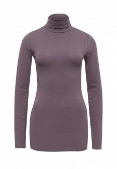 Женская фиолетовая осенняя водолазка