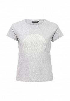Женская серая футболка Broadway
