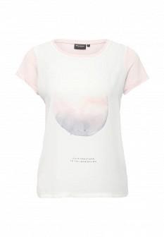 Женская розовая футболка Broadway