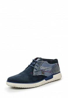 Мужские синие осенние ботинки