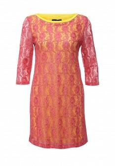 Розовое итальянское платье Byblos