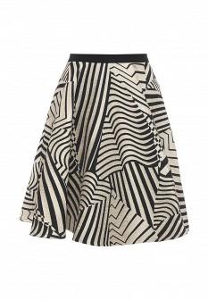 Бежевая итальянская юбка Byblos